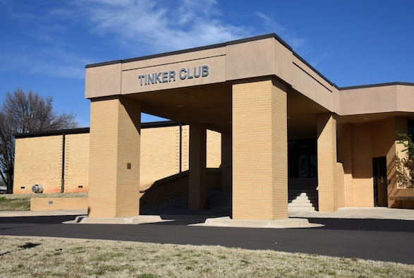 Tinker Club becoming Event Center. Food services will no longer be available at the Tinker Club beginning Mar. 2.
