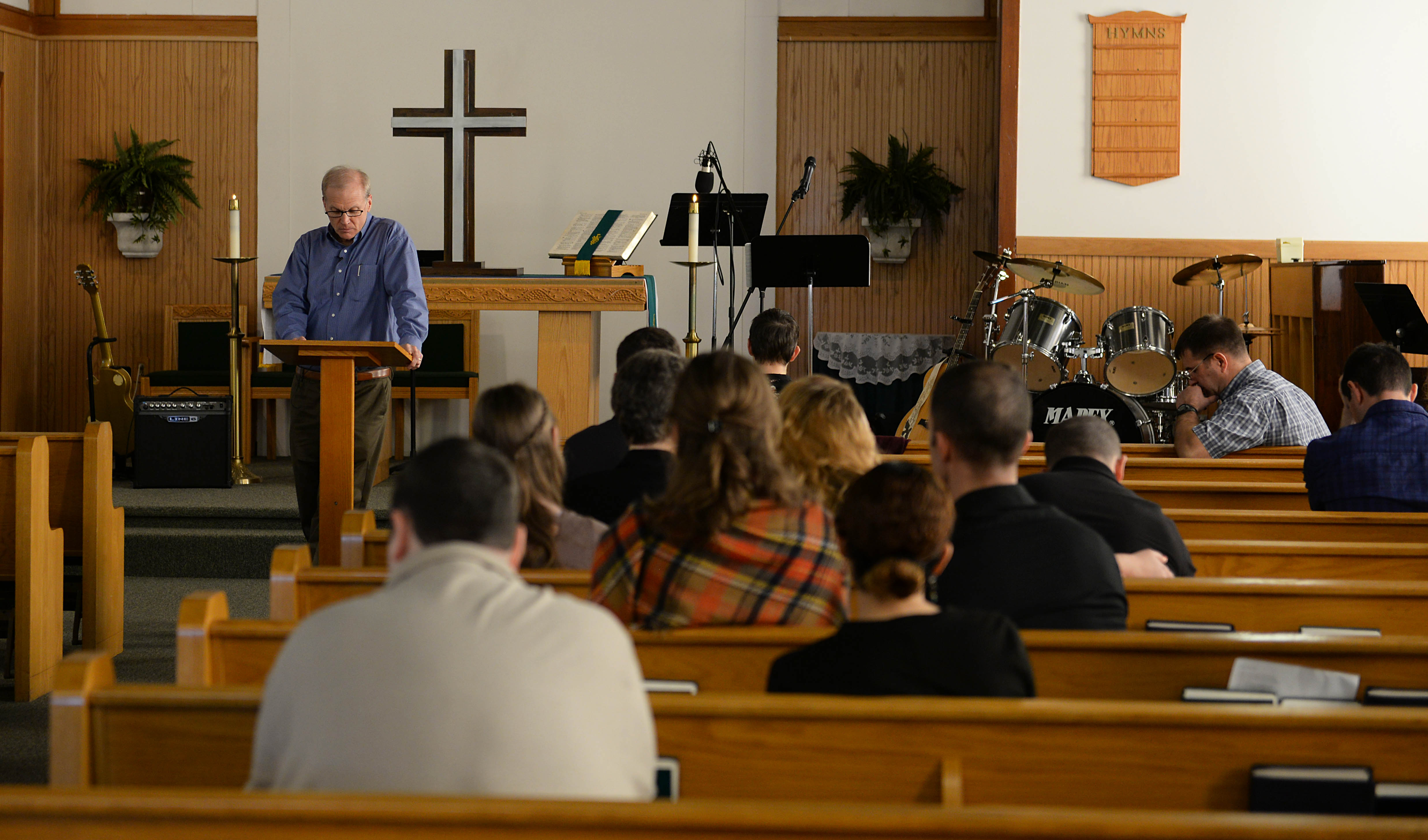 AETC Command Chaplain delivers final military sermon at