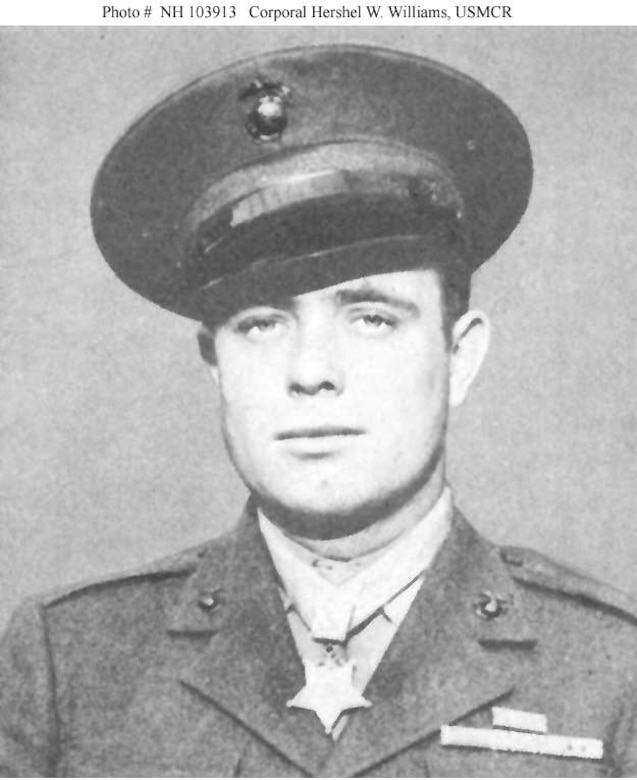 An official photo of a man in uniform wearing the Medal of Honor.
