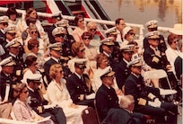 1978 COMMANDANT CHANGE OF COMMAND ADM HAYES