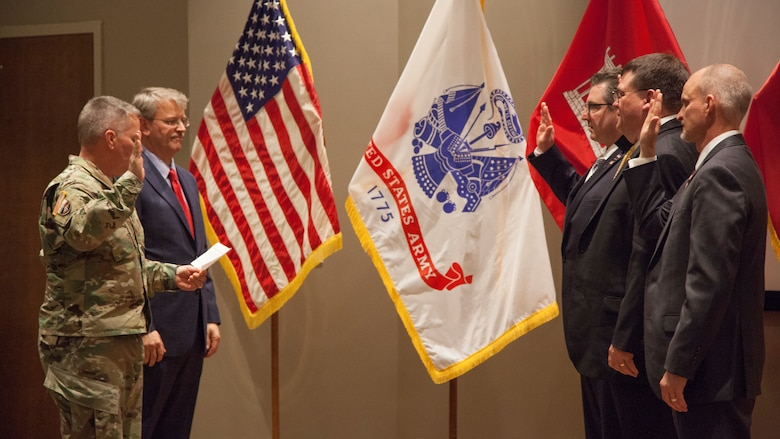 Newest ERDC laboratory directors inducted into the Senior Executive Service