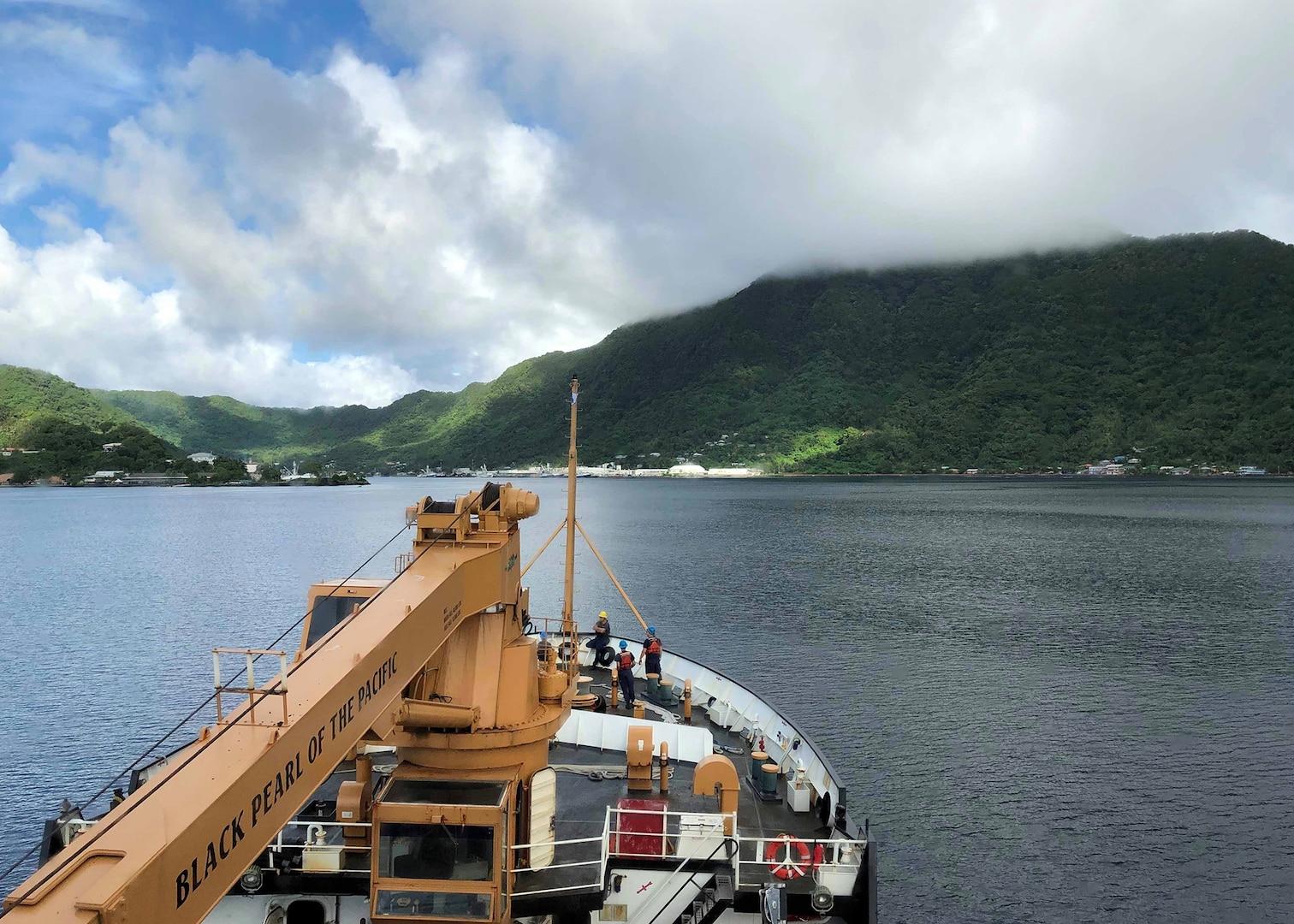 U.S. Coast Guard Cutter Sequoia Returns to Guam from Patrol