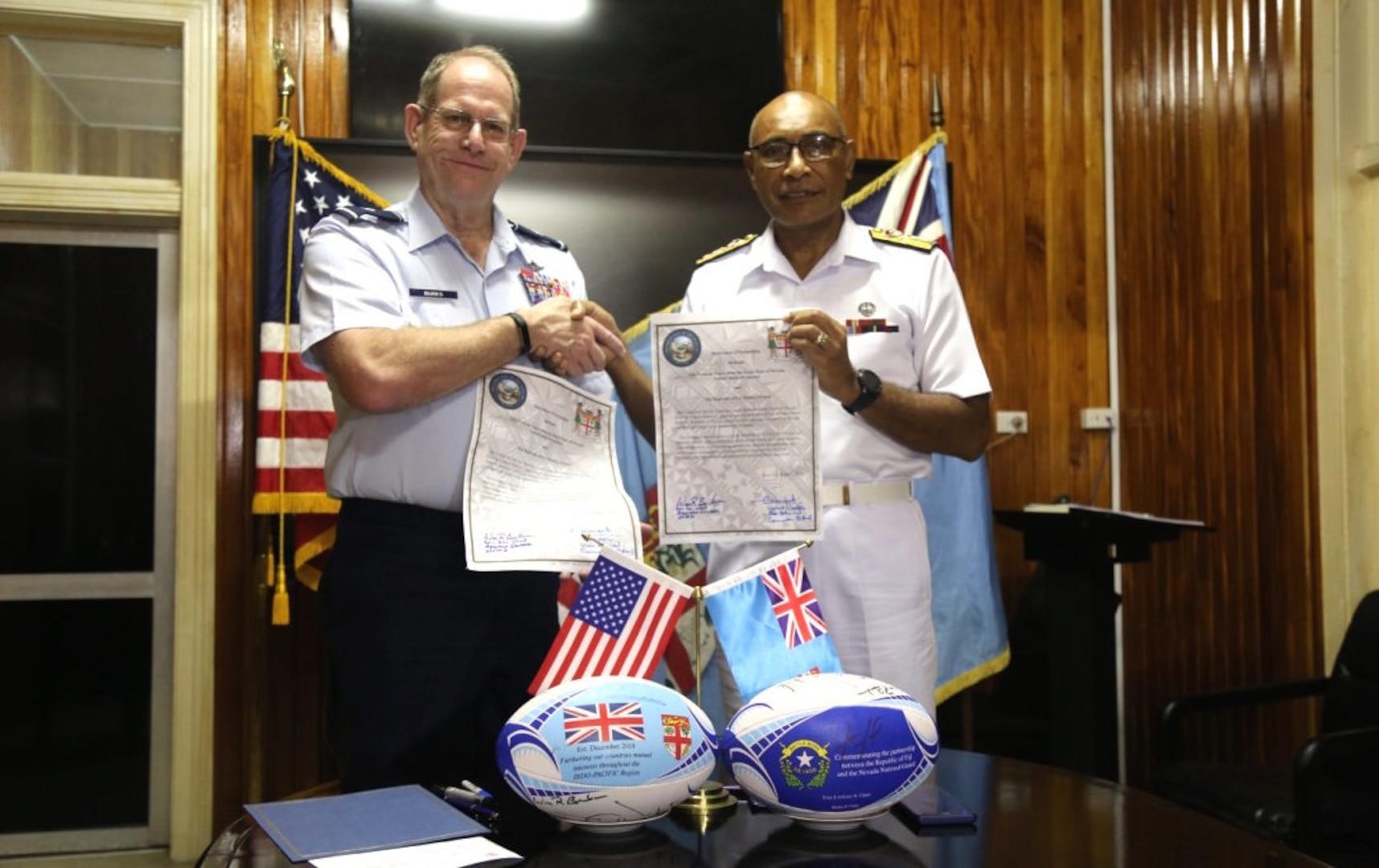 Republic of Fiji; Nevada Guard to Expand Oceania Partnership