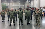 Distribution J9 Navy Reserve Team provides regional support to the European Command at DLA Distribution Europe