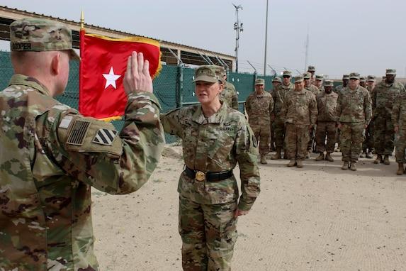 Maj. Cooper promotion