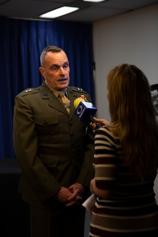Working together: San Diego and the Marine Corps form a greater understanding