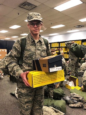 DLA Troop Support's Clothing and Textiles supply chain led the procurement of athletic footwear in response to the 2017 National Defense Authorization Act, which required the Department of Defense to provide American-made footwear to recruits.