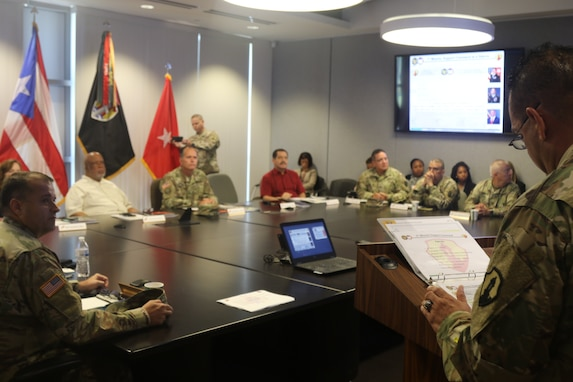 1st Mission Support Command briefs U.S. House Homeland Security Committee members