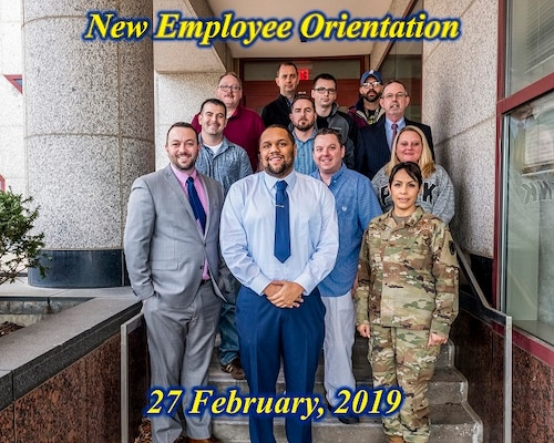 2019 March New Employee Orientation held Feb 27 and 28, in Building 20, Buckeye Room.