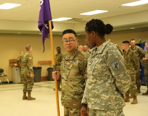 352nd Civil Affairs Command promotion