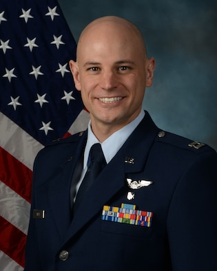 Capt. Matthew Smith, executive officer at the Air Force Research Laboratory's 711th Human Performance Wing here, has been selected as the 2018 Air Force Medical Service Annual Award of USAF Young Health Care Administrator of the Year. (U.S. Air Force official photo)