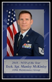 Tech. Sgt. Manley McKinley, 2018 South Carolina Air National Guard Noncommissioned Officer of the Year