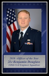 2nd Lt. Benjamin Douglass, 2018 South Carolina Air National Guard Officer of the Year