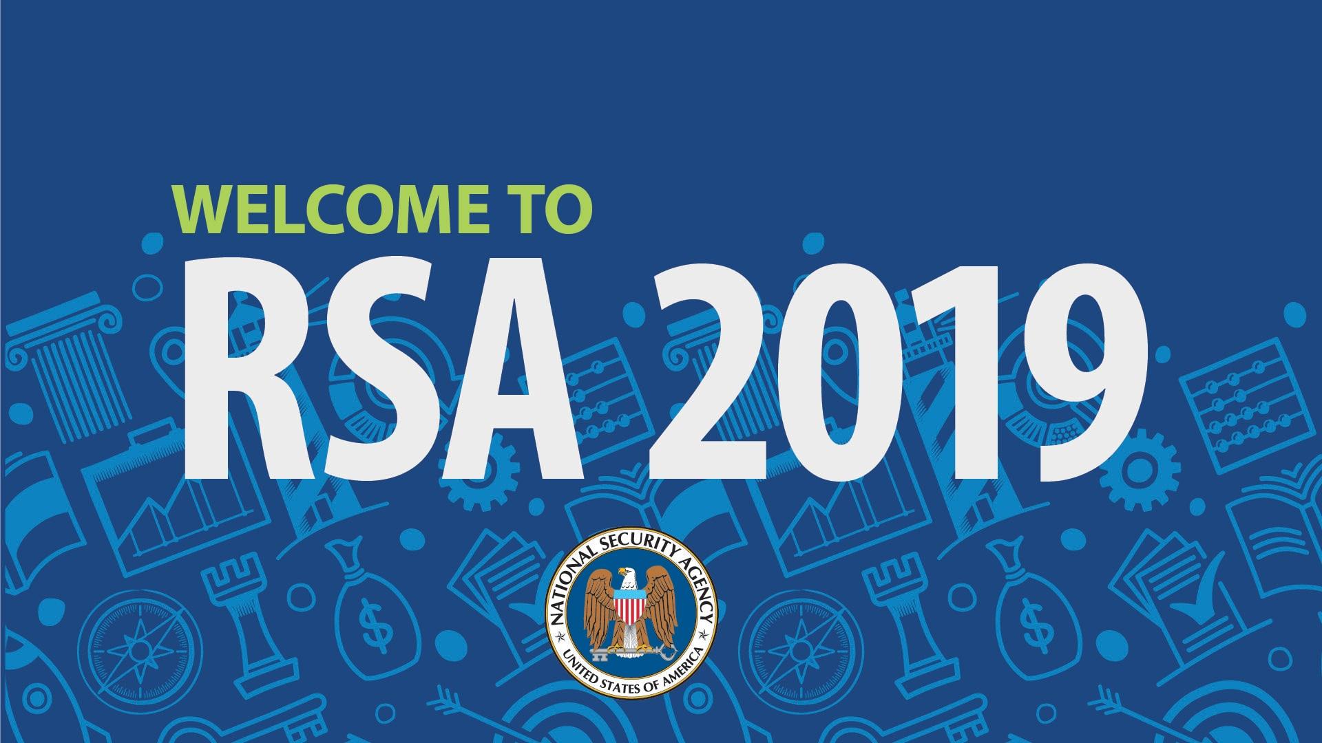 NSA at RSA banner
