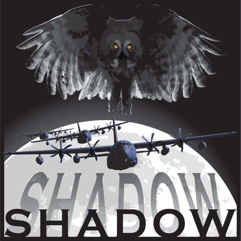 Nose art created in honor of the Lockheed MC-130P Combat Shadow. (Courtesy illustration)