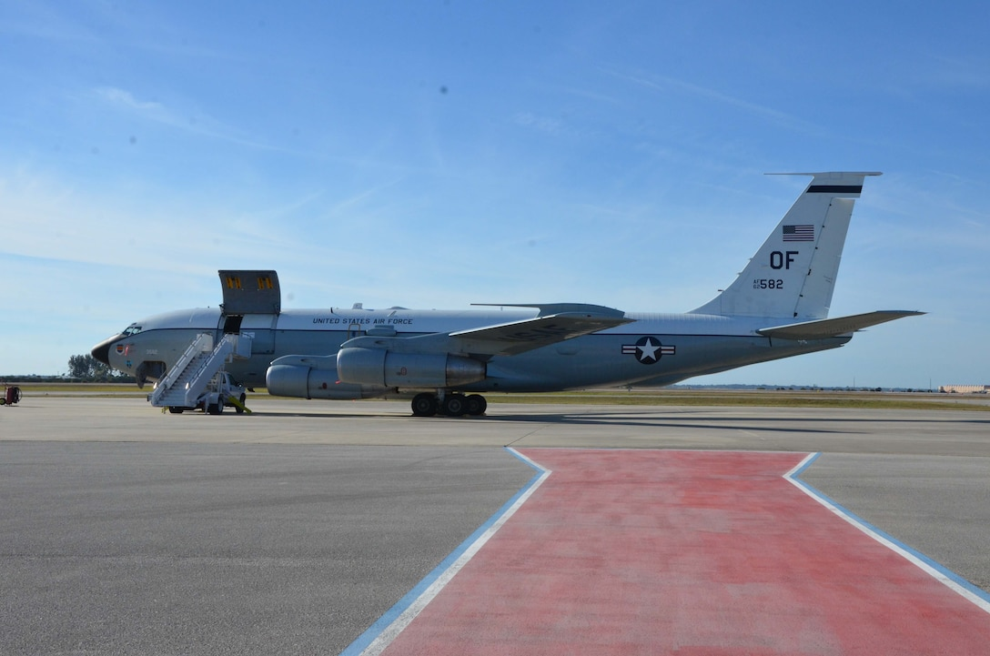 The WC-135 Constant Phoenix on display at Patrick AFB, Fla.  (U.S. Air Force photo by Susan A. Romano)