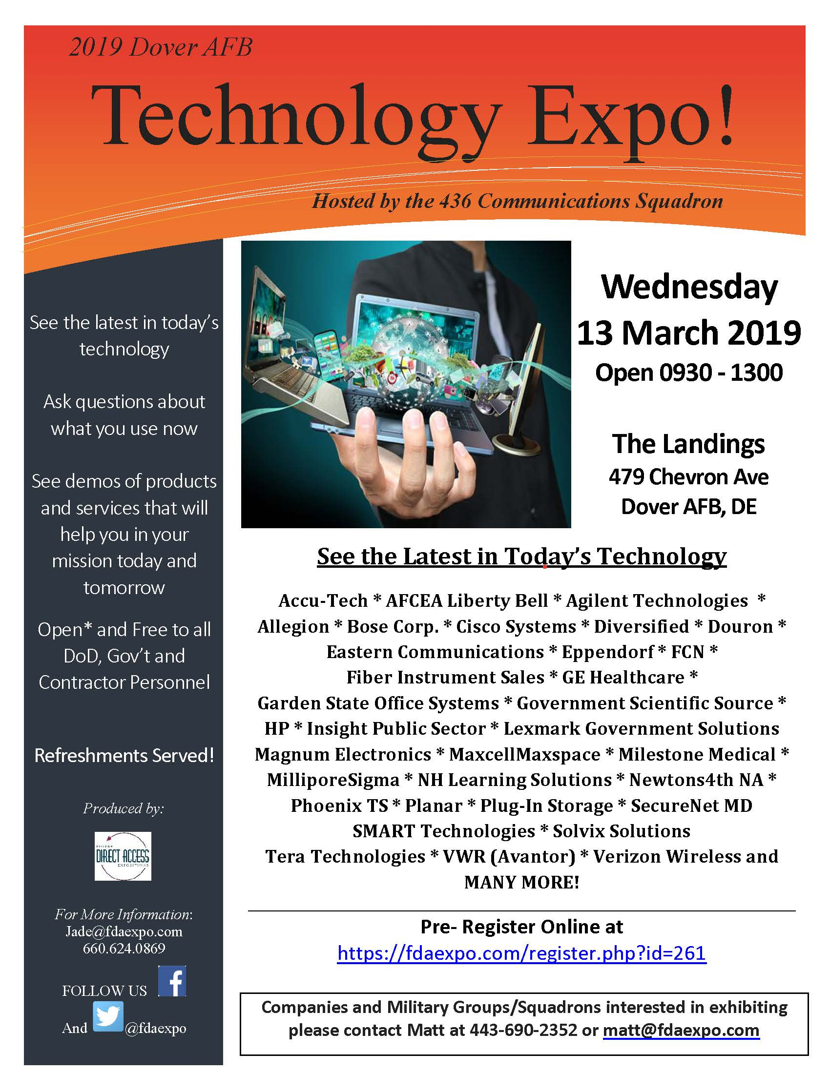 Tech Expo comes to Dover > Dover Air Force Base > Commentaries