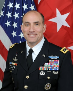 Official bio photo for U.S. Army Lt. Gen. Andrew P. Poppas, Director for Operations, J3