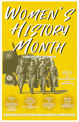 Women's History Month started as a national celebration in 1981, when Congress authorized the president to proclaim the week beginning March 7, 1982, as Women's History Week. (Courtesy Graphic)