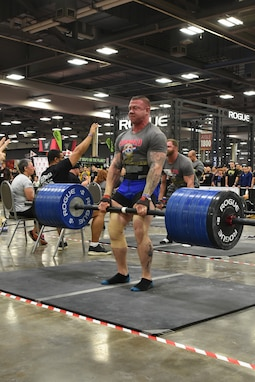 Fuhrman performed a deadlift of 700 lbs.