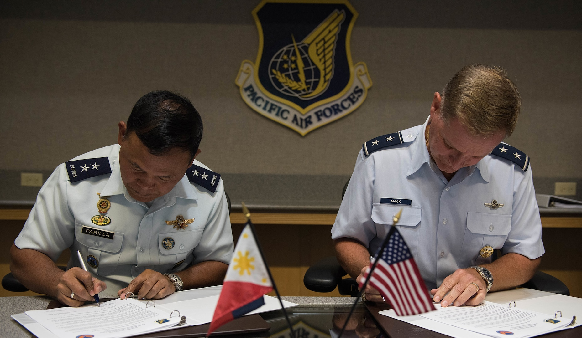 Pacific Air Forces Hosts Philippine Airmen, Strengthens Relations