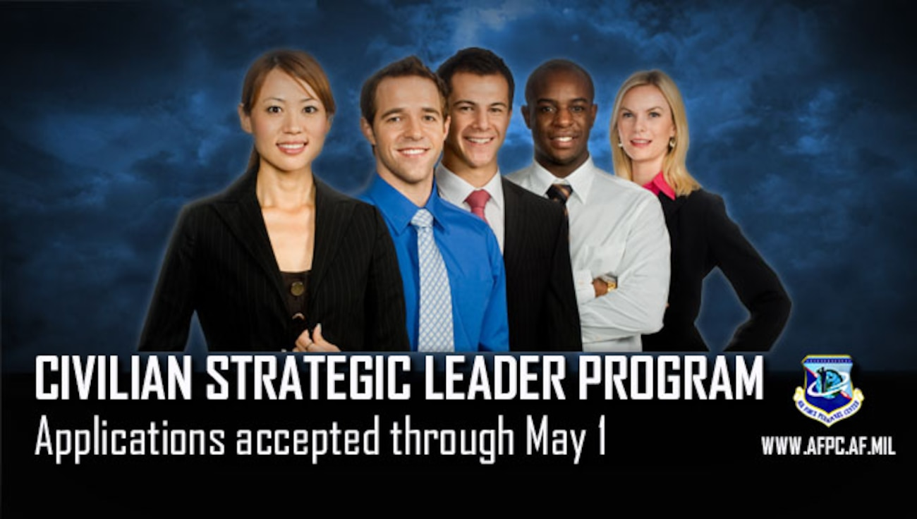 Civilian Strategic Leader Program applications accepted through May 1
