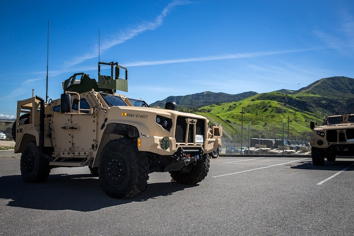 Marine Corps fields first Joint Light Tactical Vehicle
