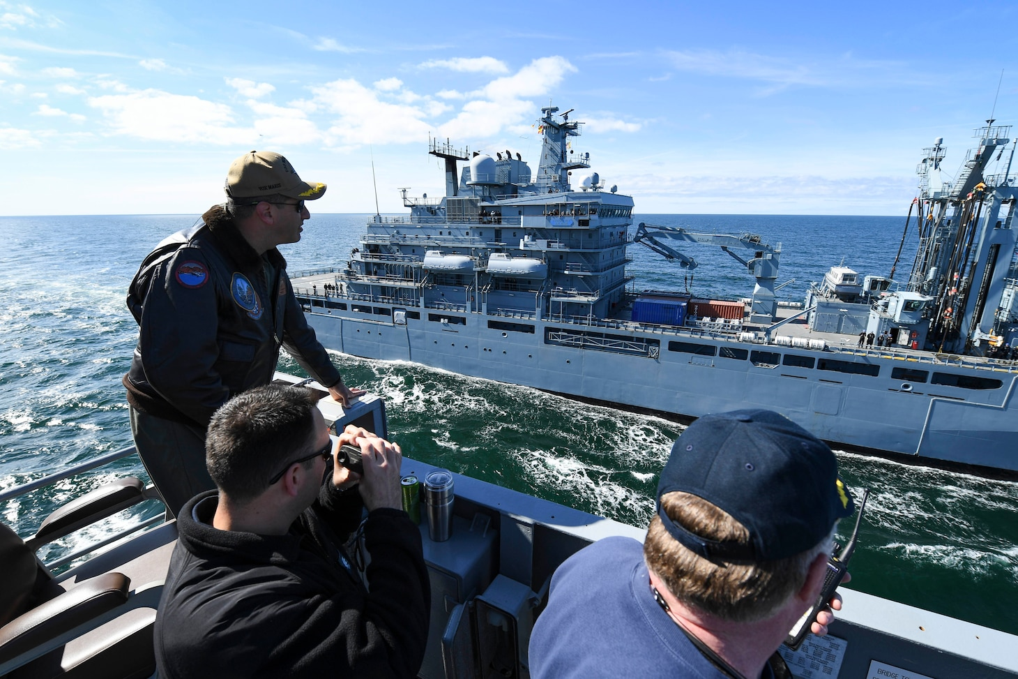 Mount Whitney, forward-deployed to Gaeta, Italy, operates with a combined crew of U.S. Navy Sailors and Military Sealift Command civil service mariners.