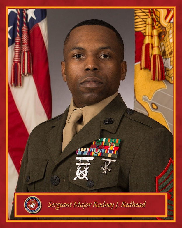 Inspector-Instructor Sergeant Major, 2nd Battalion, 24th Marine Regiment