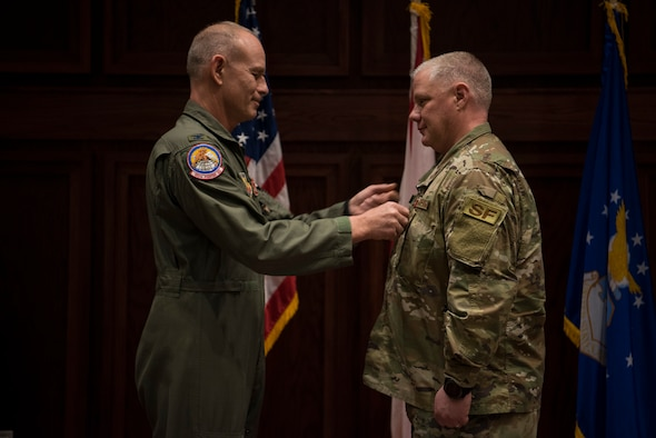 187th SFS Chief Awarded Bronze Star Medal