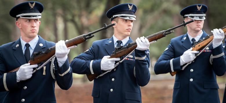 Team Eglin increases Honor Guard roster, support area