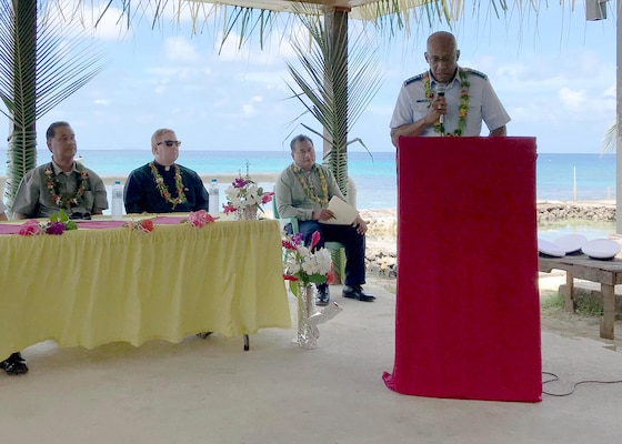 COMPACAF Honors 75th Anniversary of WWII Battle; Visits Micronesian Islands