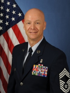 Chief Master Sgt. Mark Davis, 60th Medical Group, shares some insight on how to achieve success. (Courtesy Photo)