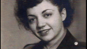 """U.S. Army Air Corps 1st Lt. Madeline """"Del"""" D'Eletto, a flight nurse who treated U.S. Service Members in Europe during World War II. (Courtesy photo by Madeline D'Eletto)"""