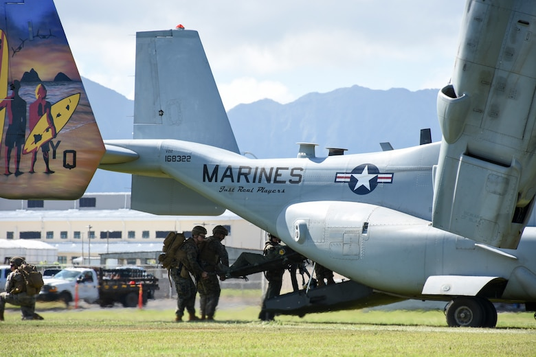Reserve Citizen Airmen, Marines conduct CSAR training in Hawaii