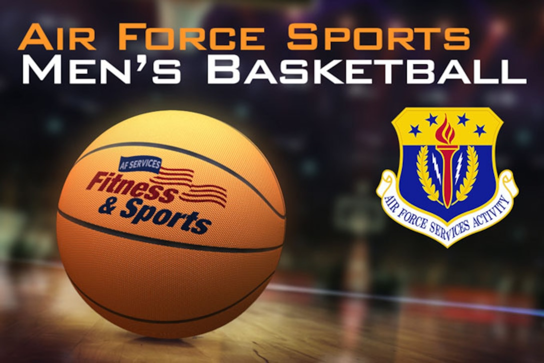 Graphic for Air Force Sports Men's Basketball (U.S. Air Force graphic by Greg Hand)