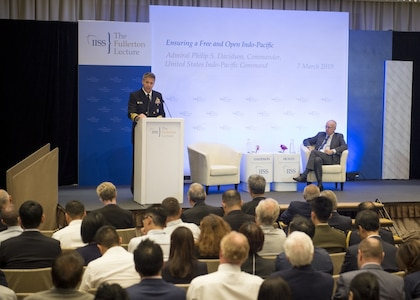 FULLERTON LECTURE SERIES (Hosted by IISS) 