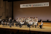 9th annual US-Japan Friendship Concert held in Iwakuni City