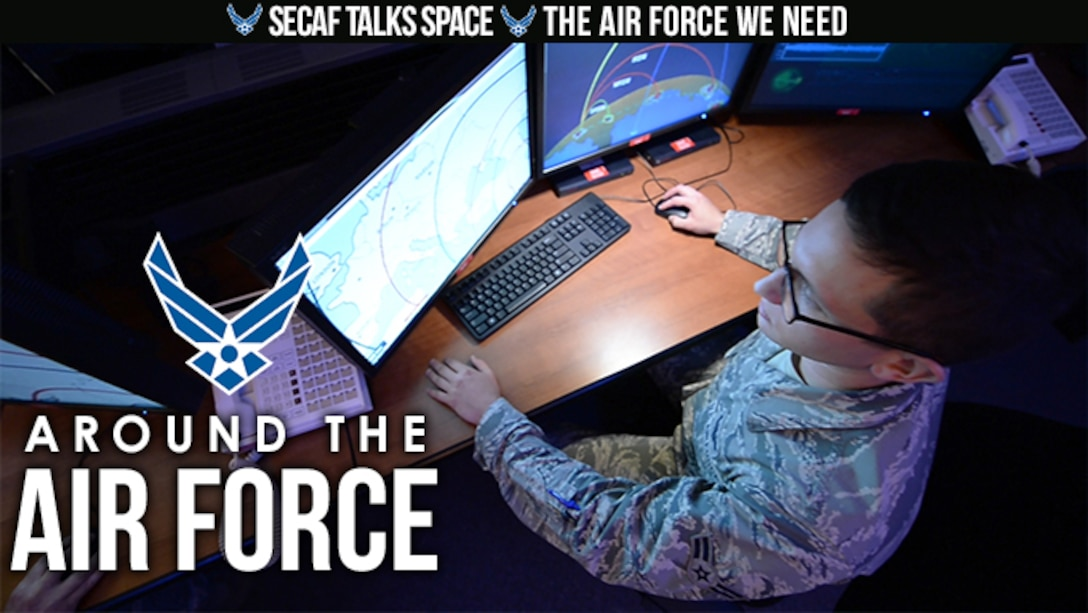 On this look Around the Air Force, Secretary of the Air Force Heather Wilson discusses the Air Force's future in space and Air Force Chief of Staff General David Goldfein talks about the Air Force we need.