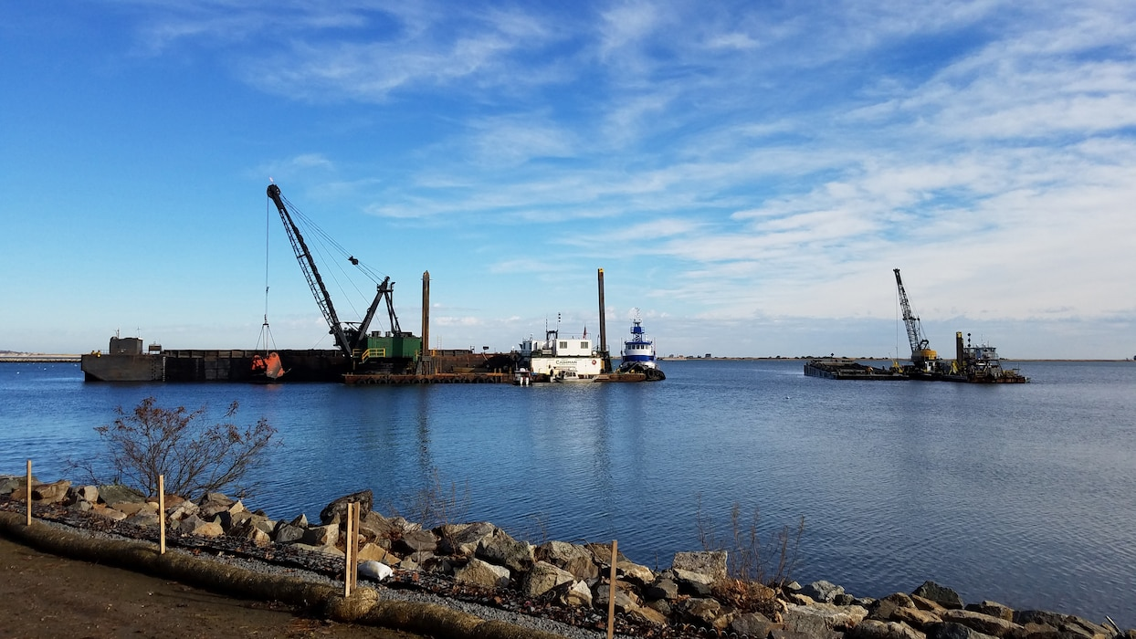 Plymouth Harbor federal navigation project