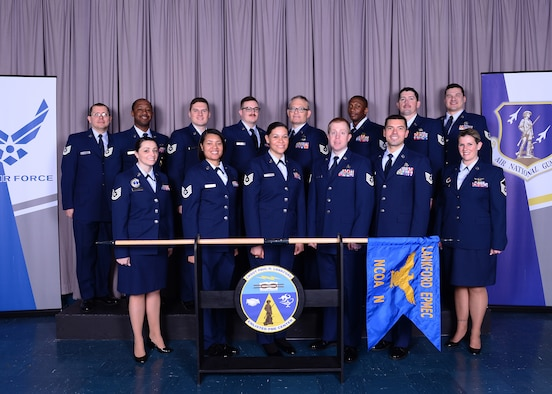 NCO Academy flight photo