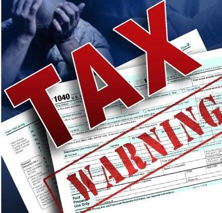 Tax prep warning