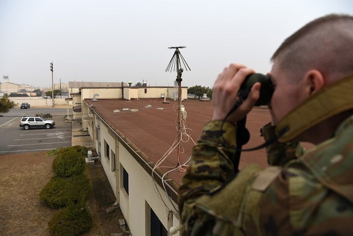 Weather It's Rain, Sleet or Snow USAF-ROKAF Team Keeps the Watch