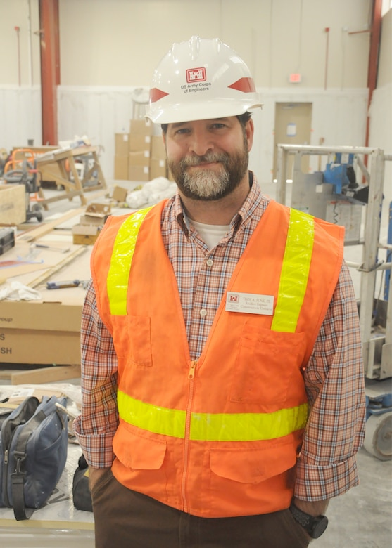 Troy Funk is the USACE resident engineer assigned to the mega Savannah Harbor Expansion Project. Funk is responsible for the contract administration and quality assurance of the construction contracts associated with the project