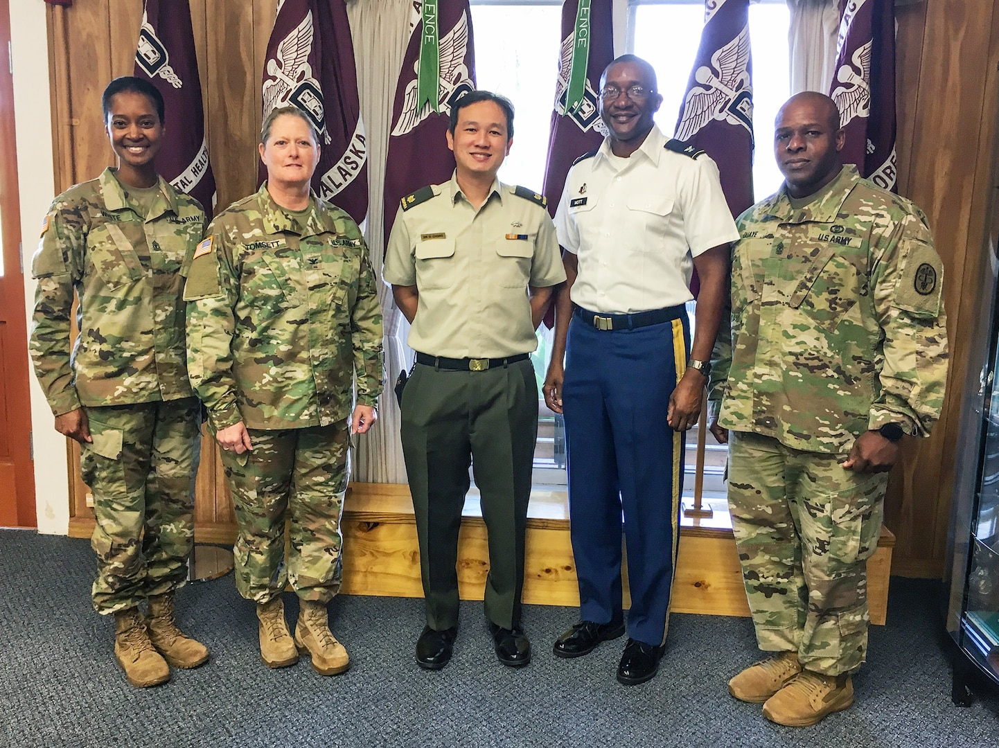 Regional Health Command-Pacific Hosts Singapore Armed Forces for Forensic Dentistry Global Health Engagement
