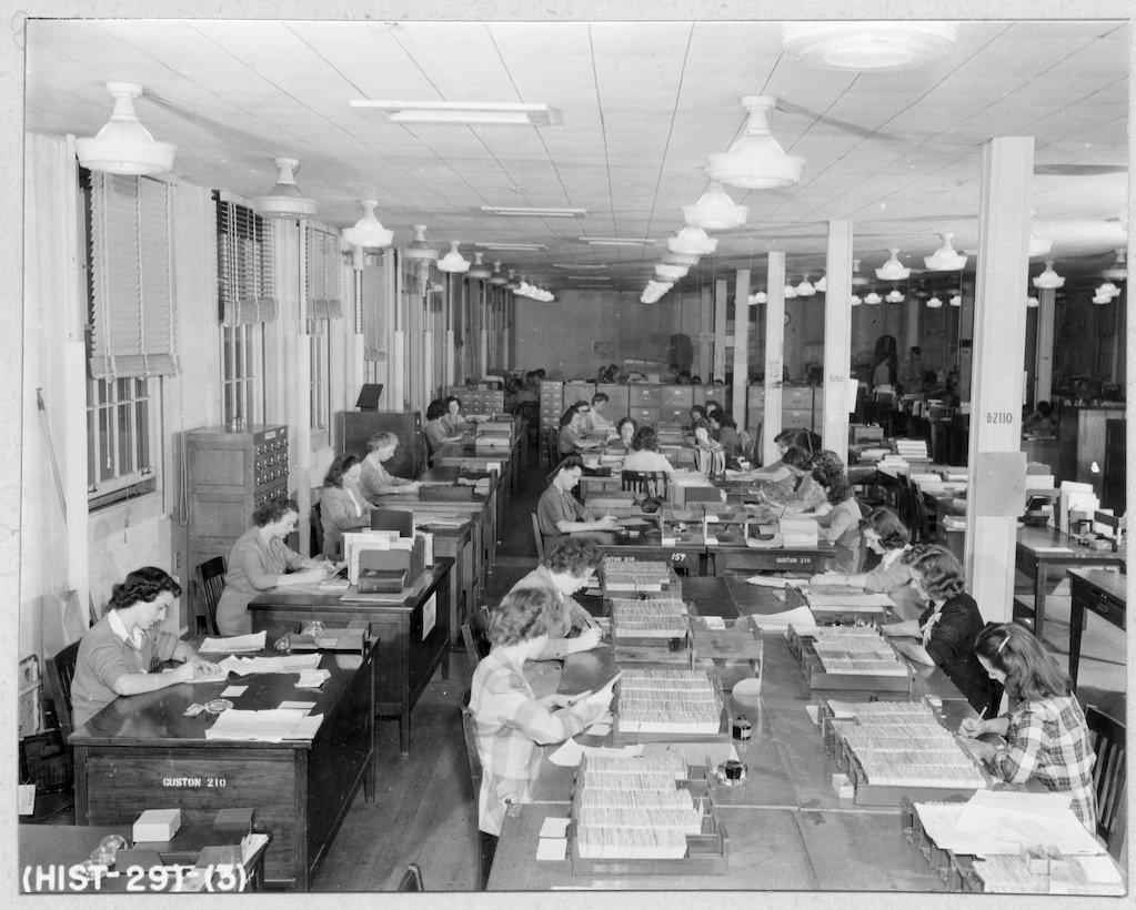 Historic Photograph of NSA and its Predecessor Organizations; See image description for specific information