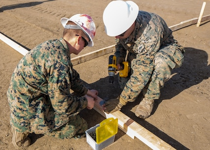 Conquering Catalina: Marines reconstruct Airport in the Sky
