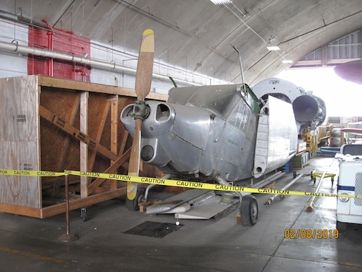 DAYTON, Ohio – 1949 Consolidated Vultee L-13A currently in storage at the National Museum of the United States Air Force. (U.S. Air Force photo)