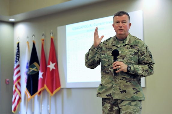 USACAPOC(A) CG: Command must adapt, prepare for the future