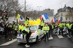 Yellow vests protest in Tours, France, February 2, 2019 (Courtesy GrandCelinien)